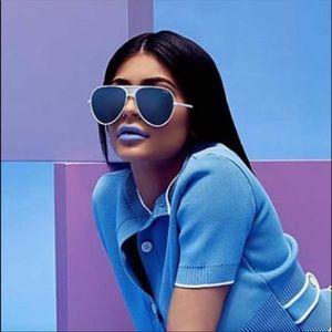 "Kylie x Quay collab ""iconic"" aviator sunglasses"